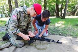смены военно-патриотической направленности по программе Юнармия