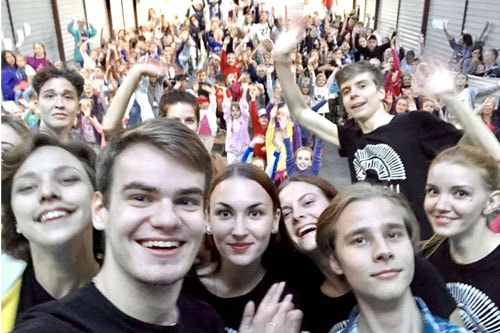Студенческий театр КГУ «Гастион» посетил «Губернаторский лагерь»